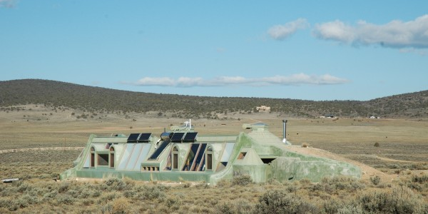 CREATE A VISION OF YOUR HOME! - this earthship is off the grid and has it's own water and electricity! Check out earthship.com